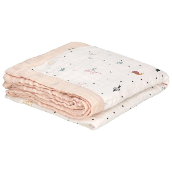 Lässig Muslin Heavenly Soft Blanket Garden Explorer Girls