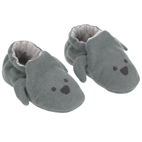 Lässig Baby Shoes in Cotton Bag Little Chums Dog