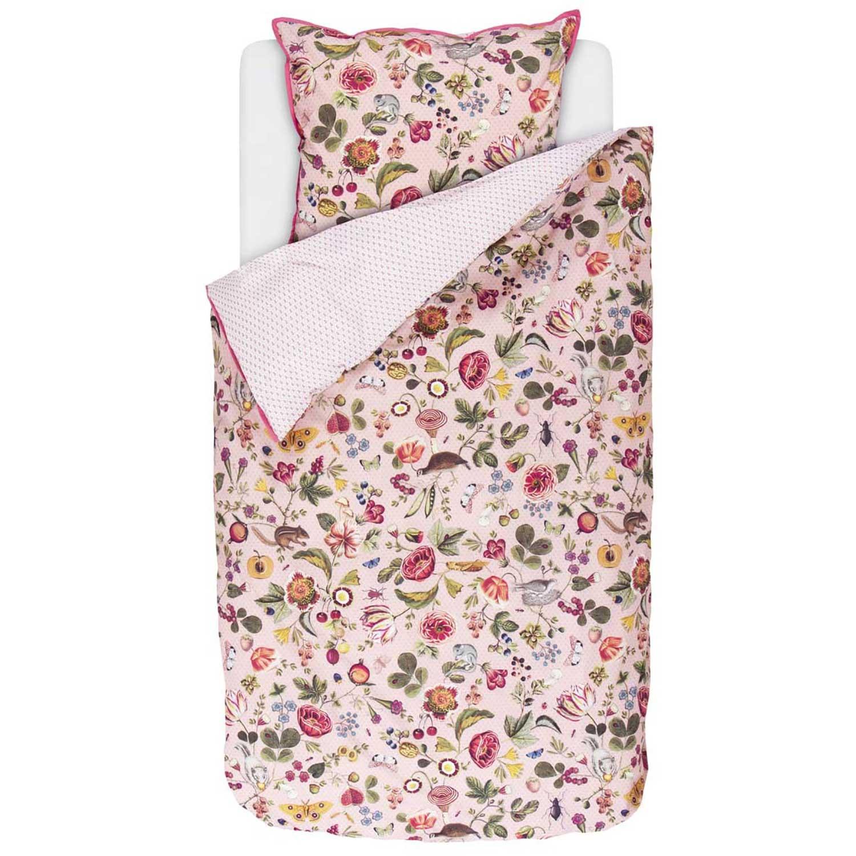 pip studio perkal woodsy pink 155x220 80x80 betten center soltendieck. Black Bedroom Furniture Sets. Home Design Ideas