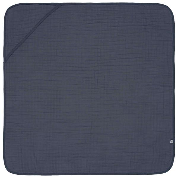 Lässig Muslin Hooded Towel Navy