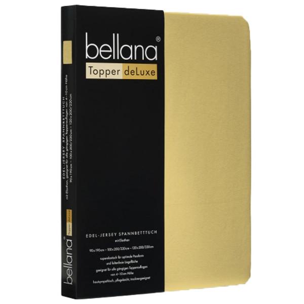 Bellana Deluxe Edel-Elastic-Jersey Spannbettlaken Topper
