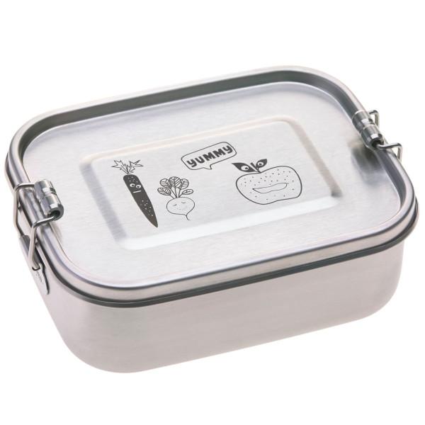 Lässig Lunchbox Stainless Steel Solid Yummy